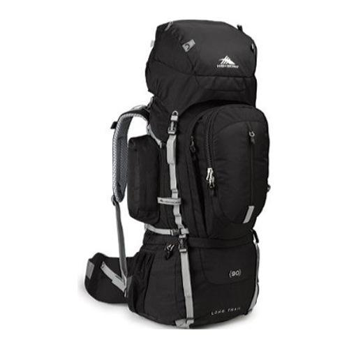 High Sierra Long Trail 90 Black/Black/Silver