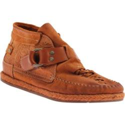 Women's OTBT Del City Burnt Orange Leather
