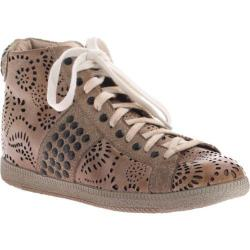 Women's OTBT Samsula Mid Taupe Leather