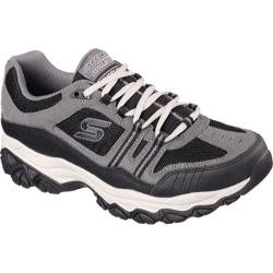 Men's Skechers After Burn Memory Fit Strike Off Sneaker Charcoal/Black