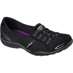 Women's Skechers Relaxed Fit Breathe Easy Good Life Black/Black