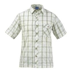 Men's Propper Covert Button-Up - Short Sleeve Sage Plaid