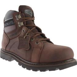 Men's Roadmate Boot Co. Gravel 6in Waterproof Shock Absorbing Work Boot Chocolate Brown Crazy Horse Leather