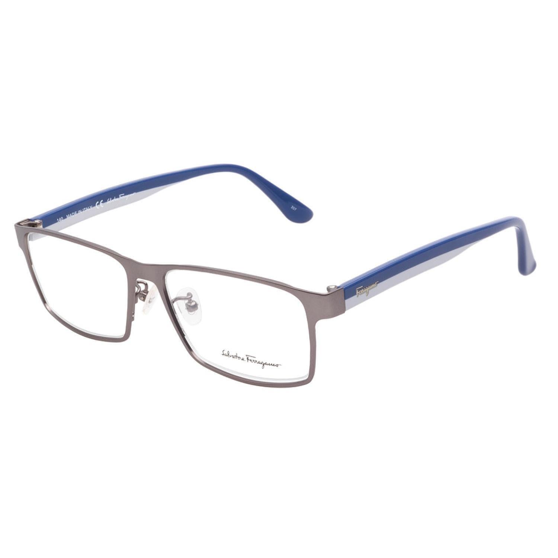 82e52c8deba Shop Salvatore Ferragamo 2506 033 Matte Gunmetal Prescription Eyeglasses -  Free Shipping Today - Overstock.com - 10248775
