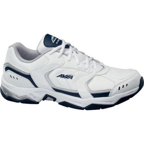 Men's Avia Avi-Tangent White/Submarine Blue/Chrome Silver