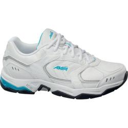Women's Avia Avi-Tangent White/Detox Blue/Chrome Silver