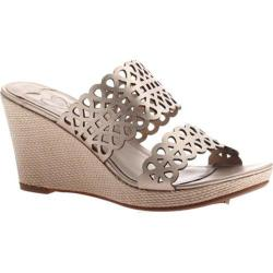 Women's Madeline Cactus Wedge Sandal Champagne