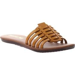 Women's Madeline Danny Slide Sandal Wheat