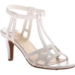 Women's Madeline Merle Ankle Strap Sandal White