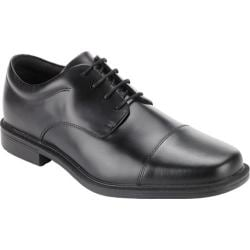 Men's Rockport Ellingwood Waterproof Black Full Grain Leather