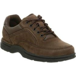 Men's Rockport Eureka Chocolate Nubuck