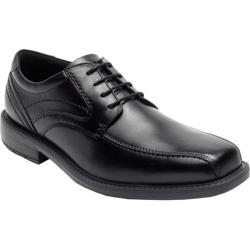 Men's Rockport Style Leader 2 Bike Toe Oxford Black Leather