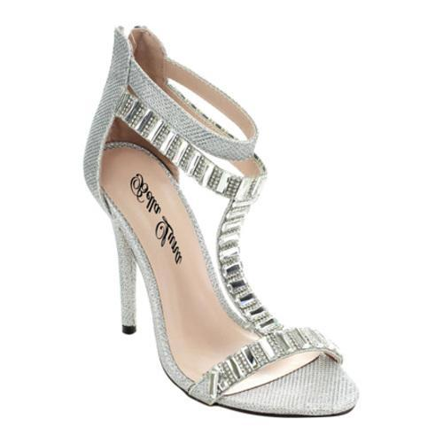 ad592c0a85a Shop Women s Da Viccino Loretta-11 Ankle Strap Sandal Silver - Free  Shipping On Orders Over  45 - Overstock - 10268393