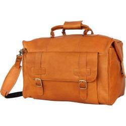 David King Leather 292 Oversized Duffel Tan