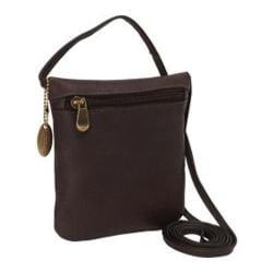 Women's David King Leather 507 Top Zip Mini Bag Cafe
