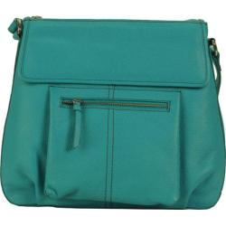 Women's Hadaki by Kalencom Tania Crossbody Viridian Green