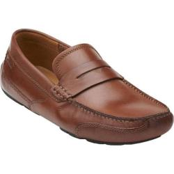 Men's Clarks Ashmont Way Cognac Leather