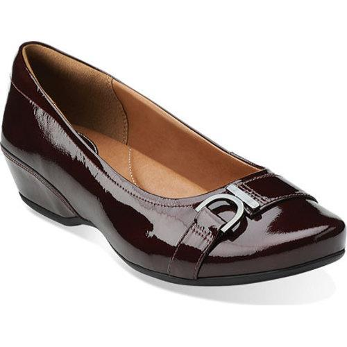 96e4a17b027 Shop Women s Clarks Concert Band Burgundy Patent Leather - Free Shipping On  Orders Over  45 - Overstock - 10284004