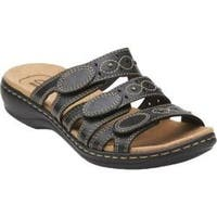 Women's Clarks Leisa Cacti Black Leather