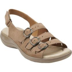 Women's Clarks Saylie Medway Taupe Nubuck
