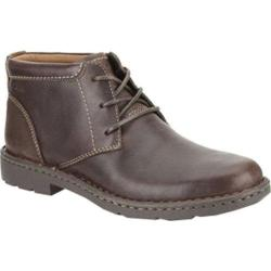 Men's Clarks Stratton Limit Brown Leather