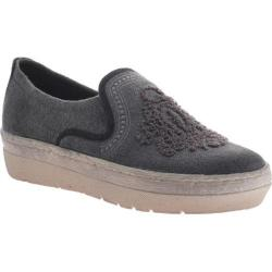 Women's OTBT Galion Loafer Dark Grey Fabric
