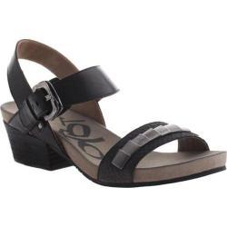 Women's OTBT La Luz Sandal Black Scale Leather