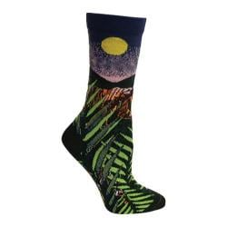 Women's Ozone Tiger Crew Sock (2 Pairs) Green