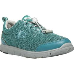 Women's Propet TravelWalker II Teal/Grey Mesh