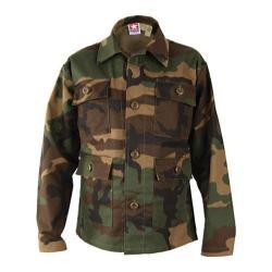 Children's Propper 4-pocket BDU Woodland Camo Coat