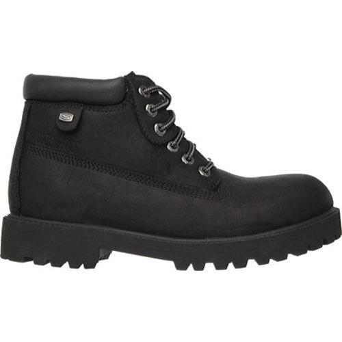 Shop Skechers Men S Boots Sergeants Verdict Black