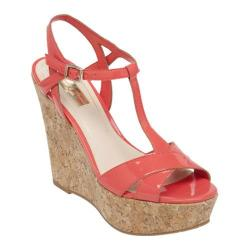 Women's Jessica Simpson Ellrose Wedge Sandal Sweet Grape Patent