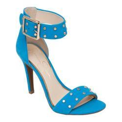 Women's Jessica Simpson Elonna2 Sandal Electric Blue Elk Nubuck