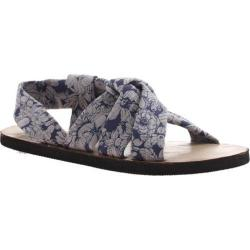 Women's OTBT Citrus Sandal Blue/White Fabric