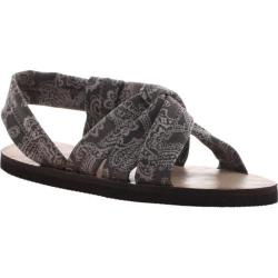 Women's OTBT Citrus Sandal Grey Paisley Fabric