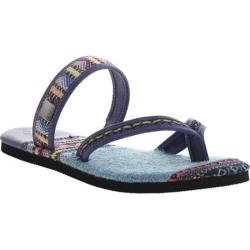 Women's OTBT Cokato Thong Sandal Marine Leather