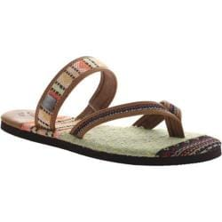 Women's OTBT Cokato Thong Sandal New Tan Leather