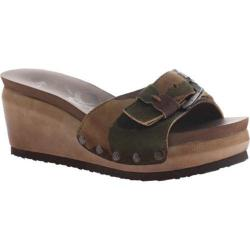 Women's OTBT Dundy Wedge Slide Camo Leather