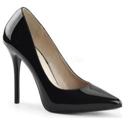 Women's Pleaser Amuse 20 Black Patent