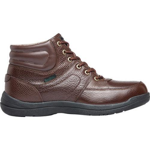 Men's Propet Four Points Mid II Boot Brown Full Grain Leather - Thumbnail 1