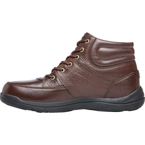 Men's Propet Four Points Mid II Boot Brown Full Grain Leather - Thumbnail 2