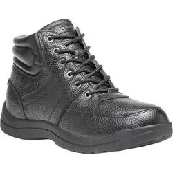 Men's Propet Four Points Mid II Boot Black Full Grain Leather