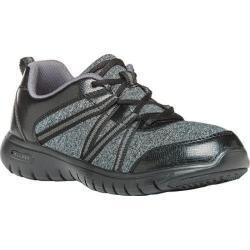 Women's Propet Tami Sneaker Black/Silver Jersey