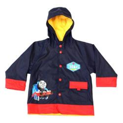 Boys' Western Chief Thomas Blue Engine Raincoat Navy