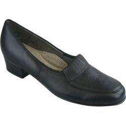 Women's FootThrills Mae Slip-On Black Leather