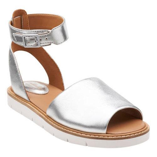 f2145475794 Shop Women s Clarks Lydie Hala Silver Leather - Free Shipping Today -  Overstock.com - 10316513