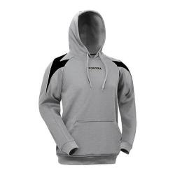 Boys' Diadora Chevron Hoodie Grey/Black