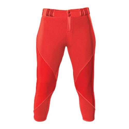 Girls' 3N2 NuFit Knickers 3/4 Belt Loops Red