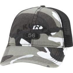 Men's A Kurtz Arc Camo Trucker Hat Black