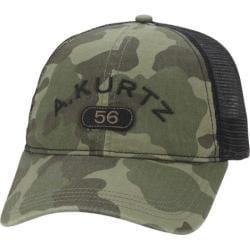 Men's A Kurtz Arc Camo Trucker Hat Military